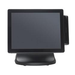 POS ELZAB P12+ PRO POJEMNOŚCIOWY CZARNY i5-7200U/8GB/256GB WIN 10 wersja dla POS-ów